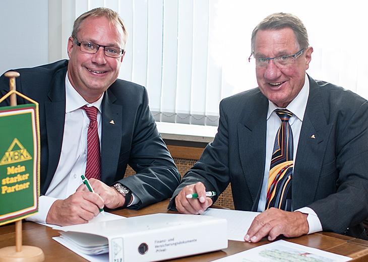 WBK Nord - Geschäftsführende Gesellschafter Frank Scharlau und Herbert Scharlau